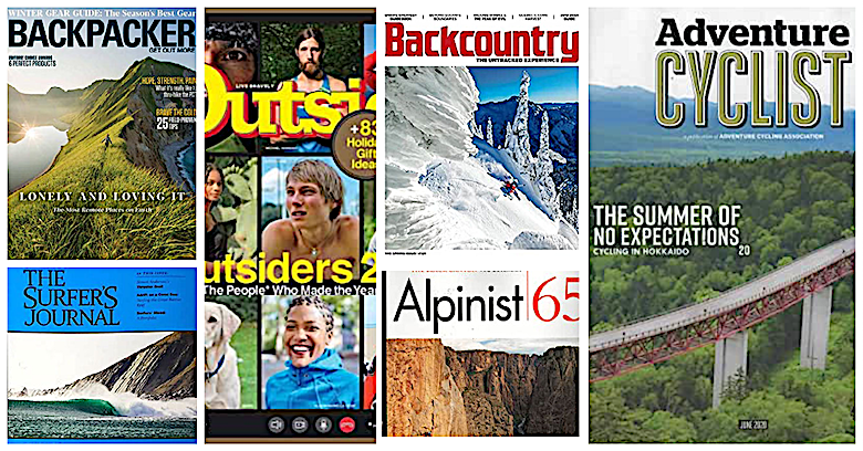 Outdoor Adventure Magazines